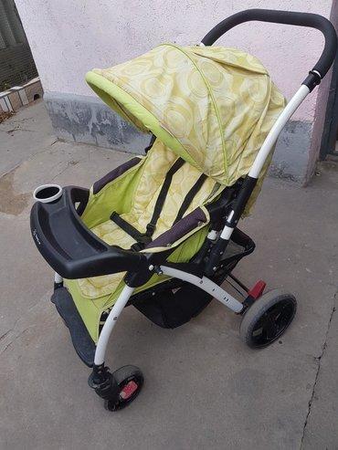 прогулочную коляску лёгкая и удобна в Кыргызстан: Продаем коляску бу в хорошем состоянии. можно использовать с