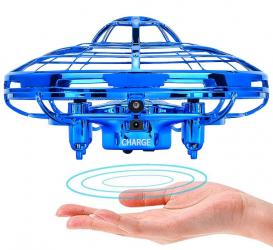 "Blue Mini Quadcopter Drone - ""Force1 Scoot"" Hands Free Hover Drone σε Athens"