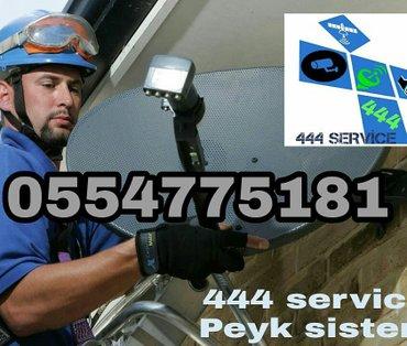 Bakı şəhərində Salam. 444 service sizi Bakı və Abşeronda peyk anten sistemləri