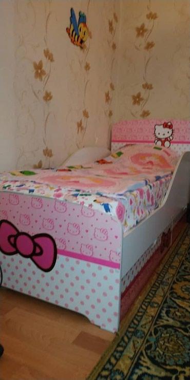 Кровать детская с матрацем и в Бишкек