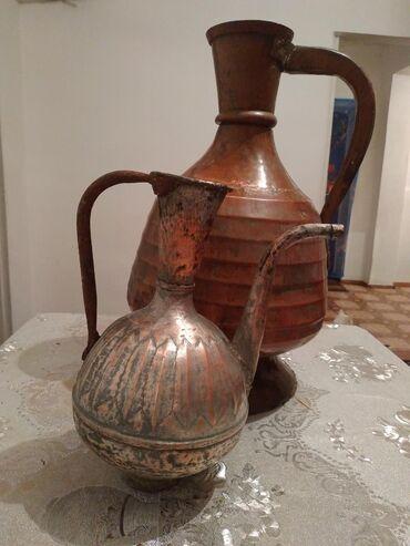 tunik s rukavami в Кыргызстан: Кувшины 17 века. Ручная работа, изготовлено из меди. Большой 1000 $
