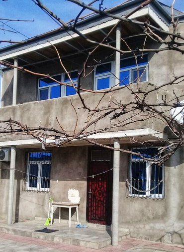 Bakı şəhərində Bineqedi qesebesinde 3 sotda tikilen 200 kv 5 otaqli ev ela temirli