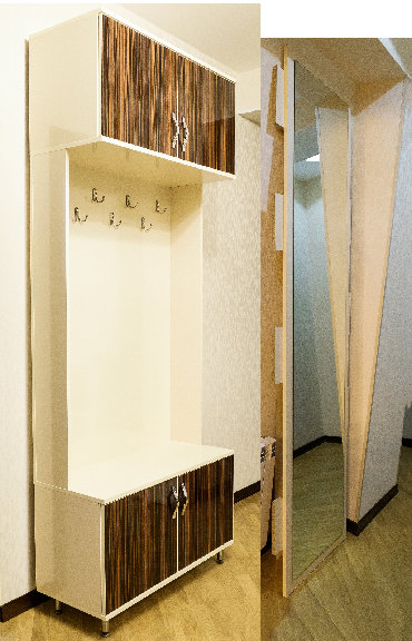 шкаф прованс в Азербайджан: Высокий шкаф вместе с зеркалом