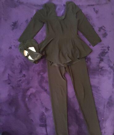 купальник на девочку 13 лет в Кыргызстан: Купальник,лосины, чешки(33)размер, на девочку,для танцев или