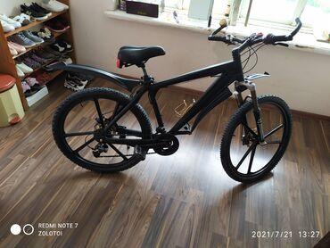Спорт и хобби - Тынчтык: Велосипед Германский Алюминиевый рама 20 кол26 титан Италия