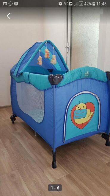 подработка в кара балте в Кыргызстан: Срочно продаю манеж-кровать состояние почти новое суперская вещь