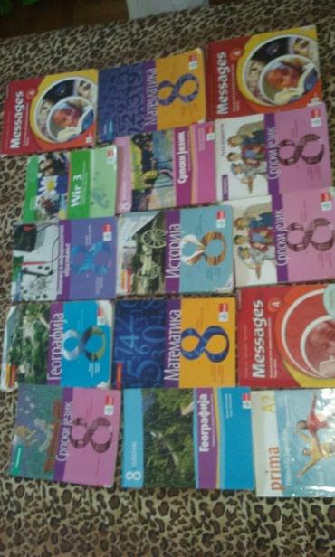 Knjige 8.razred Klet. komad 450din. 061/204-0634 - Nis