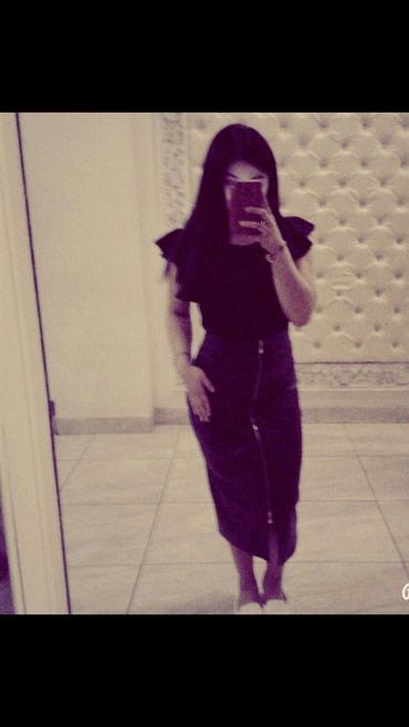 Кожанная юбка, пр-во Италия, новая в Бишкек