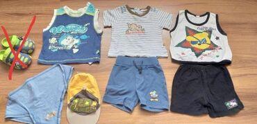 мужские шорты в Кыргызстан: Летние вещи на мальчика 1год в отличном состоянии. Качество Германия и