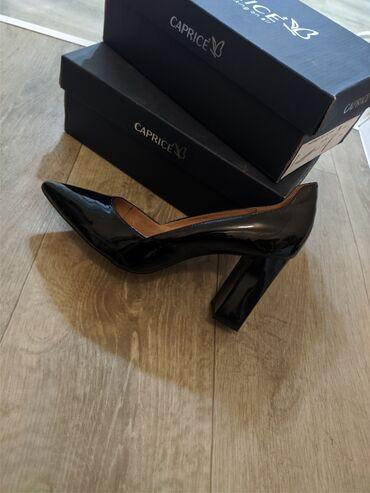 Продаю лаковые туфли,цвет черный,немецкий бренд оригинал,одевали 1 раз