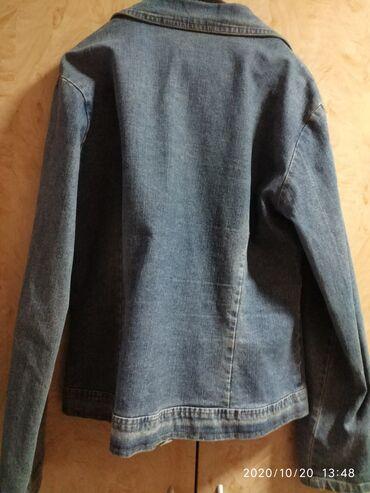 Prodajem jesnju tekse jaknu veličine XL želeno sive boje cena 600 din