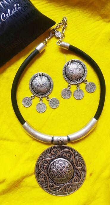 Личные вещи - Кок-Ой: Украшение новое, этническое,с серебряным покрытием, очень стильный