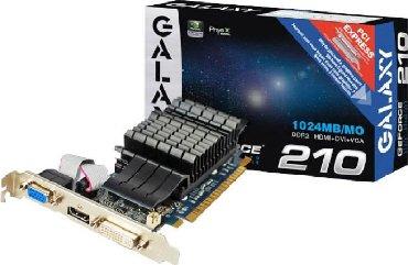 gf 210 pci e 1gb ddr3 в Кыргызстан: Galaxy GT210 1gb 64b ddr3-700cЕсть также Palit GT9500 512mb-500cPalit