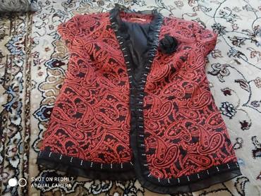 Женская одежда в Кемин: Пиджак 48 размер цена 500 сом