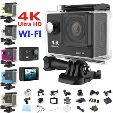 Action camera Authentic H9 4k wifi полный комплект в Бишкек