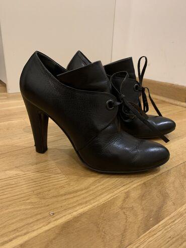 Javiti se na - Srbija: Cipele kozne italijanskog brenda Nursace u broju 38. Pertlice se