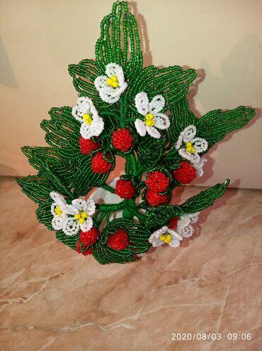 цветы купить в горшках в Кыргызстан: Бисерден гулдор! Цветы из бисера! 100сомдон 1000сомго чейин