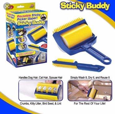 Sticky buddy - lepljivi valjak  + manja četka za čišćenje  - Beograd