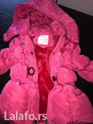 Simpa... Nosena dva tri puta ova zima... Nova decja jaknica - Crvenka