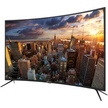"eken ultra hd в Азербайджан: Телевизор Sunny 55"" 4K Ultra HD SMART Curver Black SN55 CRE88 KREDİT V"