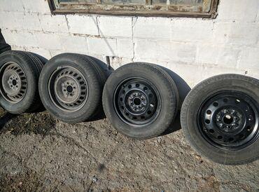 r14 диски 4 в Кыргызстан: Шины с дисками, использовали полтора сезона. Диски r14 4*98 подходят