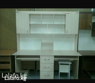 ученические столы. Мебель на заказ любой сложности корпусных мебель. в Бишкек
