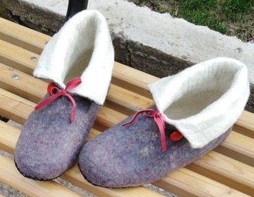 Валяные домашние ботиночки. Сваляны в Бишкек
