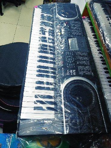 Sintizator teze pakofqada 5 oktavali Flaskatli AUX çıxışlı qalin piano
