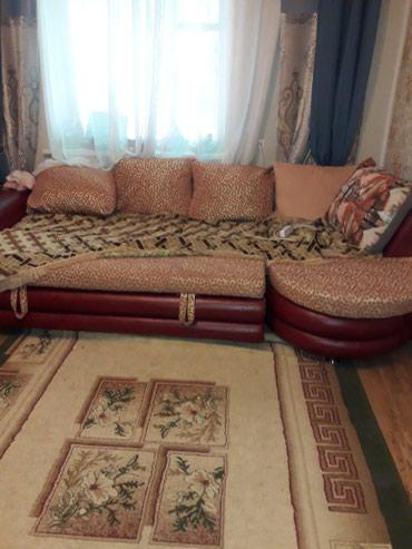 Угловой раскладной диван б/у состояния хорошая в Бишкек