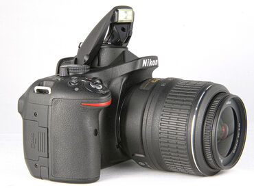 """anbarların icarəsi - Azərbaycan: Fotoaparat icarəsi """"Nikon D5200""""- Model: Nikon D5200- Tək şəxsiyyət"""