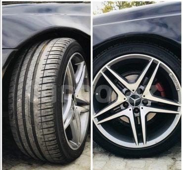 Siyəzən şəhərində Mercedes R18 diski tekerler miwelin yaxsi veziyyetde  4 eded