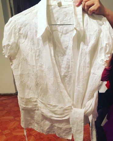 двоечка блузка и юбка лен 100 % кофточка и юбка 46-48 размер,300 сом в Бишкек