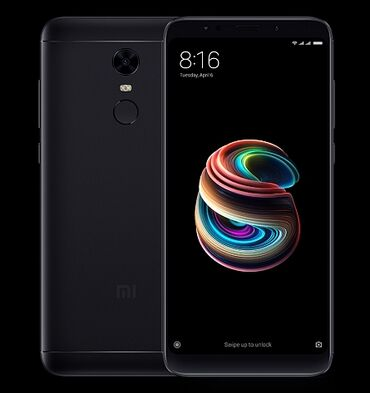 Б/у Xiaomi Redmi 5 Plus 64 ГБ Черный