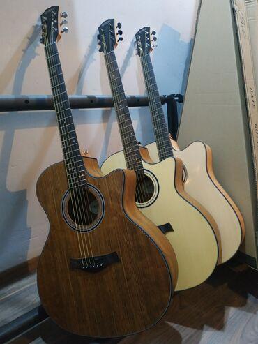 гитары бишкек in Кыргызстан | ГИТАРЫ: QEdios made in Indonesia размер 40 дюймов Акустические гитары новые