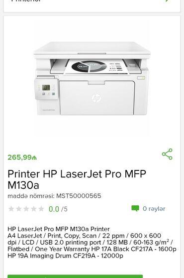 hp принтеры в Азербайджан: Printer HP Laser Jet  Tam zəmanətlə 1 kart və digər taksit kartiyla 18
