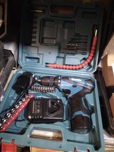 Аккумуляторный шуруповёрт Макита 12 V Li в Бишкек