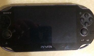 PS Vita (Sony Playstation Vita) в Кыргызстан: Продаю портативную консоль PS VITA. Стоит sd2vita на 16 гб (можно