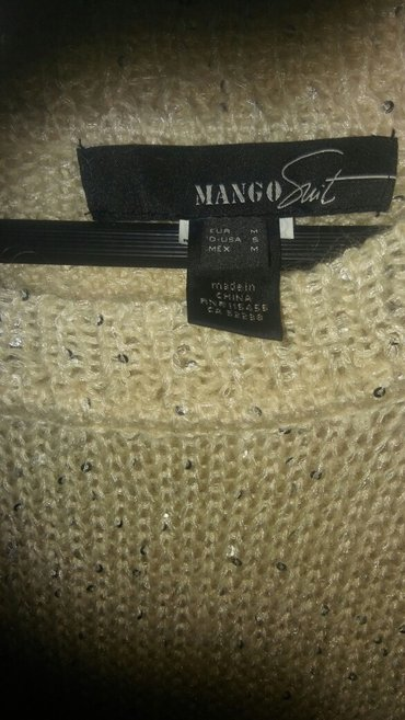 φορεμα πλεχτο mango με τρουακαρ μανικια. ελ. μεταχειρισμενο. σε Αθήνα - εικόνες 3