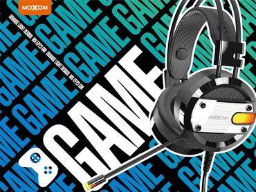 �������������������� mx 4 ������������ в Кыргызстан: MOXOM MX-EP23 3D Surround Gaming Headset 3.5 mm+USB 50mm Drive