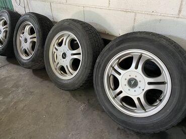 диски-воссен-цена в Кыргызстан: Комплект колёс 205/65R/15 Резина зимняя диски оригинал