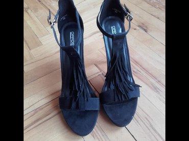 Opet sandale br - Srbija: NOVE Opposite sandale, crne, broj 40. Prelepo stoje!