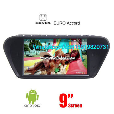 Honda Spirior Accord Acura TSX Android car player Model Number
