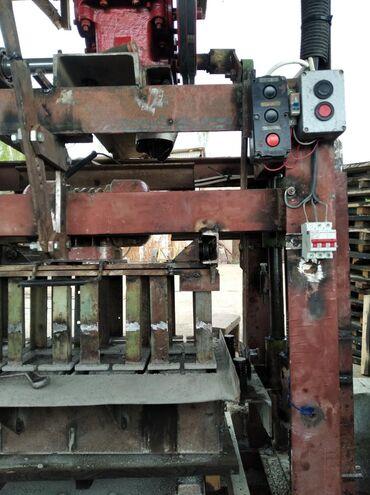 Оборудование для бизнеса в Чолпон-Ата: Готовый бизнес мощный станок матрица мешалка тачка поддоны г. Чолпон
