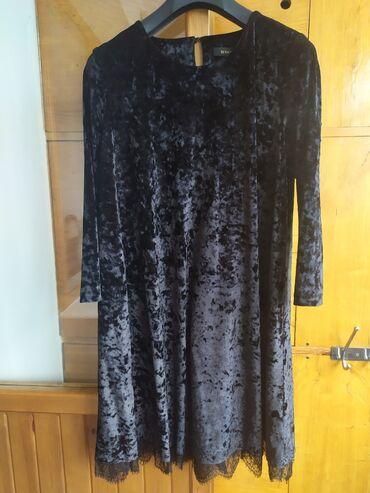 Бархатное платье, свободного кроя, 48р 50р производство Турция брала