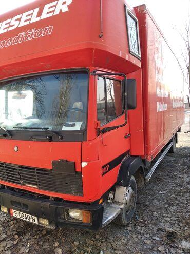грузовики в Кыргызстан: Срочна Мерседес 817 турбина. Горный тормоз. Афтоном печка все