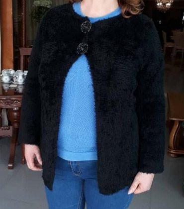 Кофта разлетайка,теплая,размер 48-50. в Бишкек