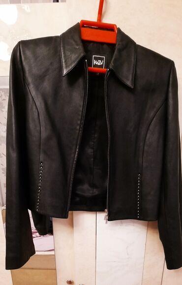 Продаю кожаную куртку в отличном состоянии 👌 размер 42