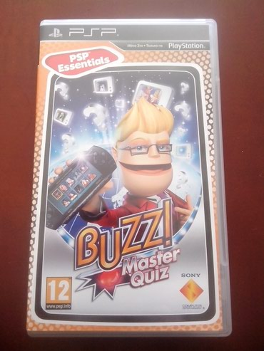 Buzz! Master Quiz for PSP UMD with Manual σε North & East Suburbs