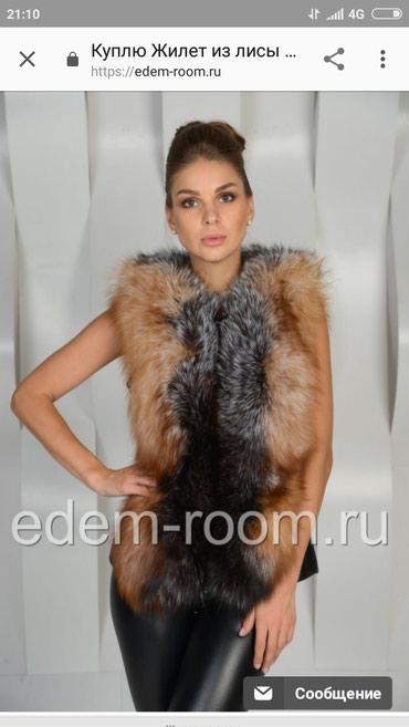 Продам жилет из лисы!Цена 8000Сом в Бишкек