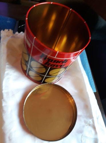 Franck kava , metalna kutija u ocuvanom stanju , mase 1 kg. , - Kovin - slika 3